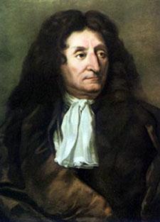 17th-century portrait of Jean de La Fontaine.