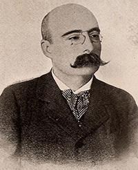 Photograph of Zófimo Consiglieri Pedroso.