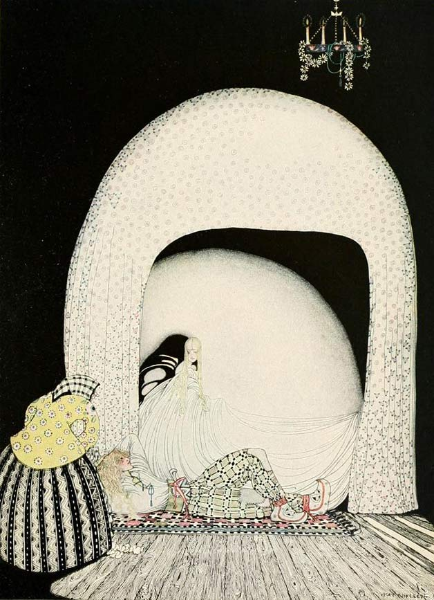 The Widow's Son illustration by Kay Nielsen