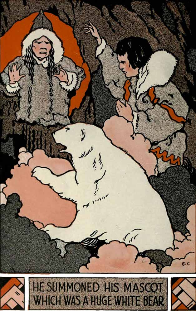 The conjurer and the bear