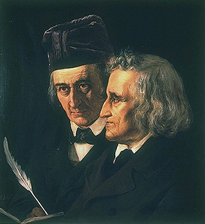 Portrait of Brothers Grimm