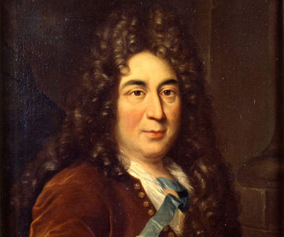 Painted portrait of Charles Perrault