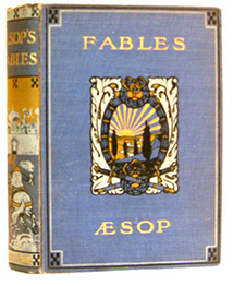 Book cover of Three Hundred Aesop's Fables