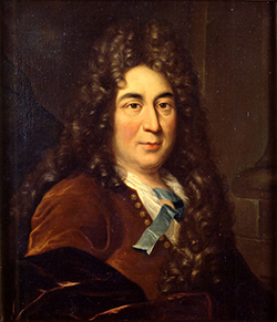 Painting of Charles Perrault, artist unknown, 17th century.