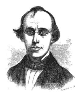 Engraving of Cornelius Mathews
