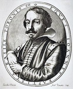 Engraving of Giambattista Basile