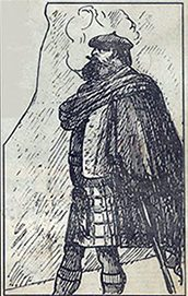 Sketch of John Francis Campbell.