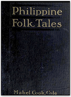 Original cover of Philippine Folk Tales.