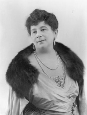 Photograph of fairy tale author Baroness Orczy by unknown photographer from the National Portrait Gallery, 1920.