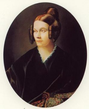 Painting of Sophie de Ségur by Louis Gaston de Ségur, circa 1840.