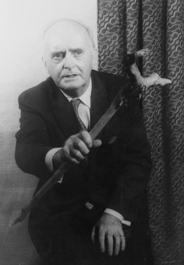 Author Padraic Colum, photograph by Carl Van Vechten.